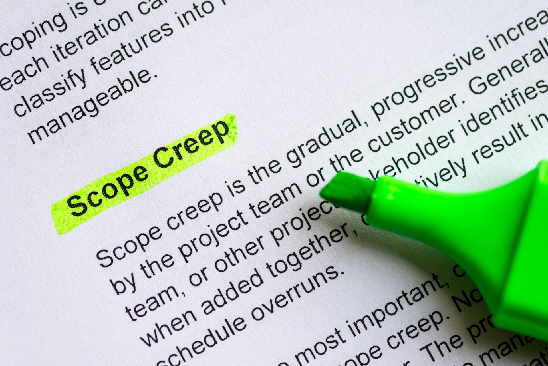 Scope creep: хто винен і що робити?